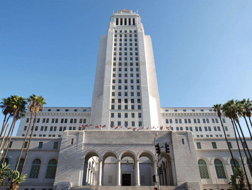 Los Angeles City Hall Weddings